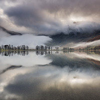 Buy canvas prints of Buttermere Fog by Phil Buckle