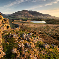 Buy canvas prints of First Light Above Tewet by Phil Buckle