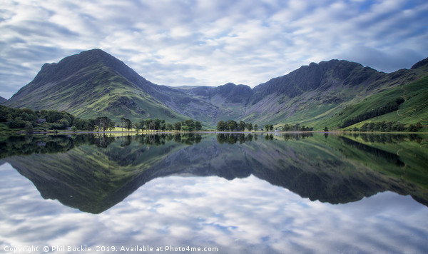 Buttermere Double Canvas print by Phil Buckle