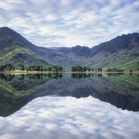 Buy canvas prints of Buttermere Double by Phil Buckle