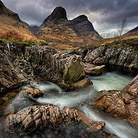 Buy canvas prints of River Coe Waterfall by Phil Buckle