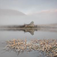 Buy canvas prints of Kilchurn Castle Sunrise by Phil Buckle