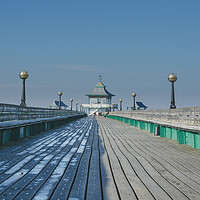 Buy canvas prints of Clevedon Pier by Marcus Revill