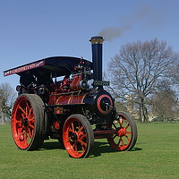 Buy canvas prints of 1908 Allchin Traction Engine by alan Barnes