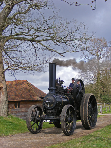 Fowler Traction Engine Canvas print by alan Barnes