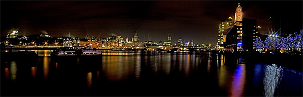 South Bank Panorama Canvas print by Malcolm Smith