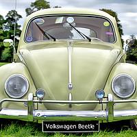 Buy canvas prints of Volkswagen Beetle by Paddy Geoghegan