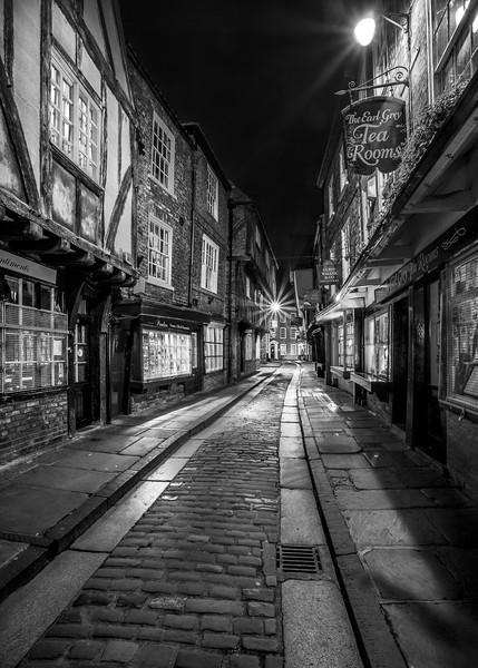 York Shambles Canvas Print by John Hall