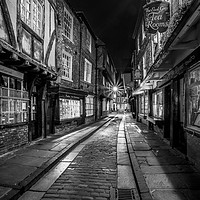 Buy canvas prints of York Shambles by John Hall