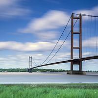 Buy canvas prints of Humber Bridge by John Hall