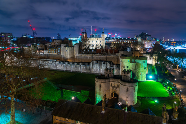 Tower of London Views Canvas Print by Jon Raffoul