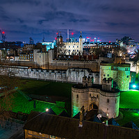 Buy canvas prints of Tower of London Views by Jon Raffoul