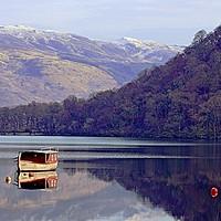 Buy canvas prints of Loch Lomond Still Air                              by David Mccandlish