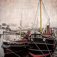 Buy canvas prints of Boats with History                         by David Mccandlish