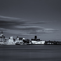 Buy canvas prints of Liverpool Cityscape by Andrew George