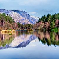 Buy canvas prints of Glencoe Lochan Scotland by John Frid