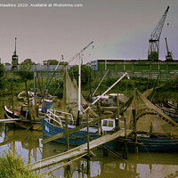 Buy canvas prints of Old Fishing Boats by Neville Hawkins