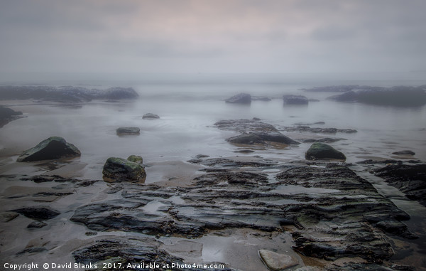 Sea mist Canvas print by David Blanks