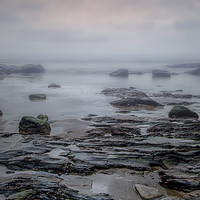 Buy canvas prints of Sea mist by David Blanks