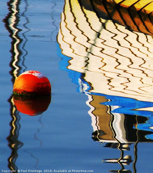 Reflection Brixham Harbour Canvas print by Paul Prestidge