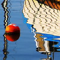 Buy canvas prints of Reflection Brixham Harbour by Paul Prestidge