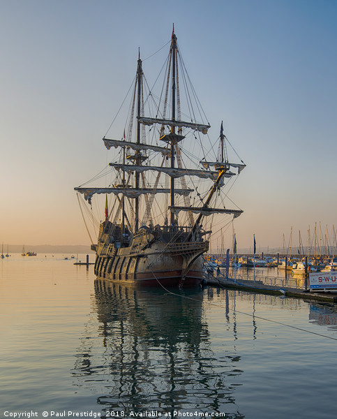 El Galeón, Spanish Tall Ship Canvas print by Paul Prestidge