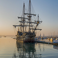 Buy canvas prints of El Galeón, Spanish Tall Ship by Paul Prestidge
