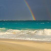 Buy canvas prints of Caribbean Rainbow by Paul Prestidge
