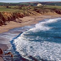 Buy canvas prints of The Beach at Thurlestone, Devon by Paul Prestidge