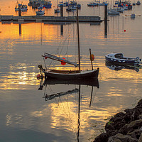Buy canvas prints of Brixham Outer Harbour by Paul Prestidge
