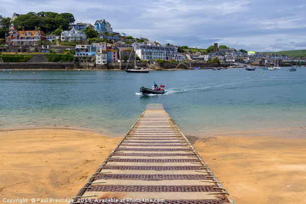 Salcombe from the Ferry Slipway Canvas print by Paul Prestidge