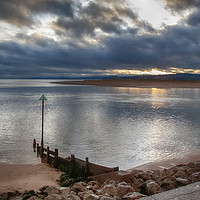 Buy canvas prints of The Exe Estuary at Exmouth by Paul Prestidge