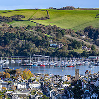 Buy canvas prints of Dartmouth in the Autumn by Paul F Prestidge