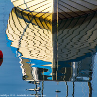 Buy canvas prints of Boat and Buoy Reflection by Paul F Prestidge