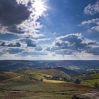 Buy canvas prints of Hope Valley by Jennifer Higgs