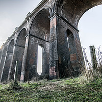 Buy canvas prints of Ouse Valley Viaduct (Balcombe Viaduct) by Darren Golds