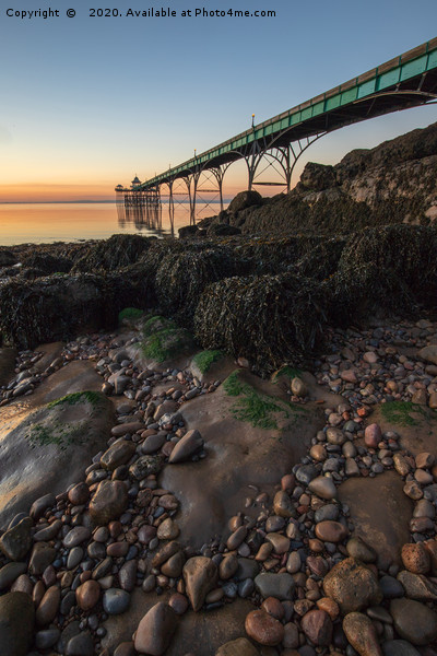 Clevedon Pier Canvas print by