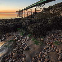 Buy canvas prints of Clevedon Pier by