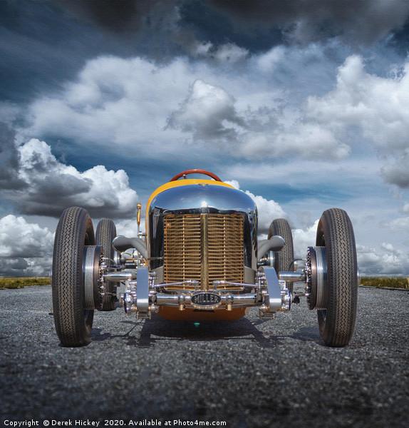 Roadster Canvas print by Derek Hickey