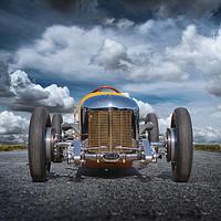 Buy canvas prints of Roadster by Derek Hickey