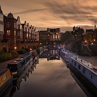 Buy canvas prints of The Canals of Birmingham by Jon Jones