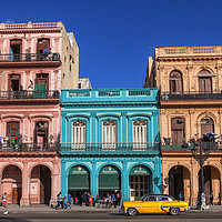 Buy canvas prints of Havana, Cuba by Jon Jones