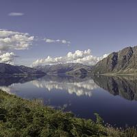 Buy canvas prints of Lake Hawea, New Zealand  by Jon Jones