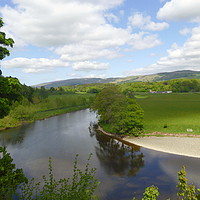 Buy canvas prints of Ruskin's View, Kirby Lonsdale, Cumbria by Stephen Carvell
