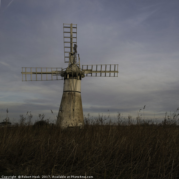 Thurne Mill Canvas Print by Robert Hook