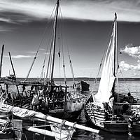 Buy canvas prints of Stone Town Port Zanzibar by Amyn Nasser