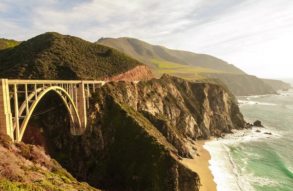 California Pacific Coast Road Trip 0575 Framed Print by AMYN NASSER