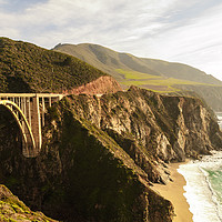 Buy canvas prints of California Pacific Coast Road Trip 0575 by AMYN NASSER
