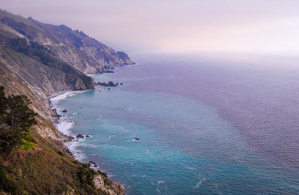 0743 California Pacific Coast Road Trip Framed Print by AMYN NASSER