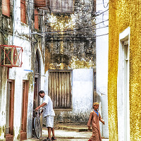 Buy canvas prints of Lifestyle - Stonetown Zanzibar Tanzania 3618 East  by AMYN NASSER